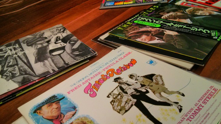 Vinyl Lounge at the National Film & Sound Archive