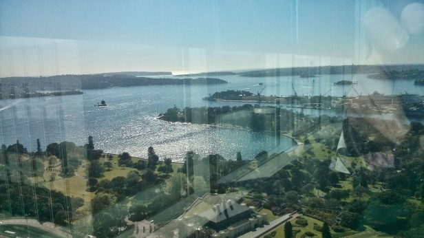 Sydney, viewed from Governor Macquarie Tower