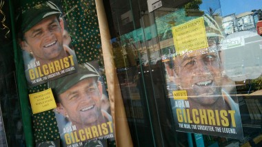 One of Lismore's most famous sons is Adam Gilchrist. I see he was back in town this week for book signings.