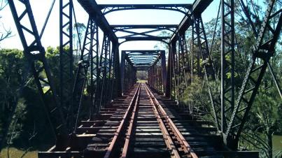 Railway Bridge crossing the Wilson's River at Lismore