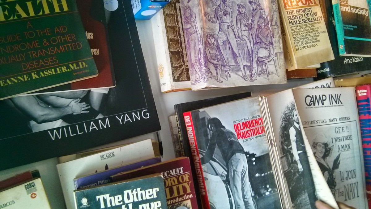 Lex Watson's Book Collection for Sale