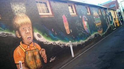 Laneway Art, Lismore