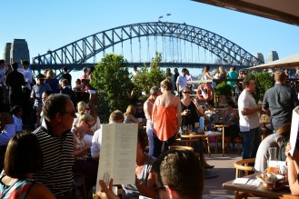 Sydney Harbour Bridge, as viewed from Opera Bar