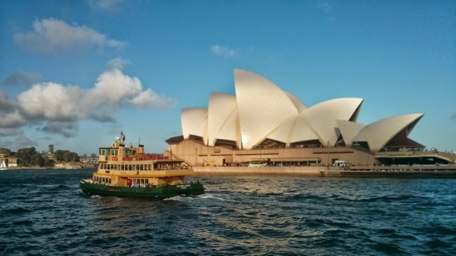 Sydney Opera House and Sydney Ferry