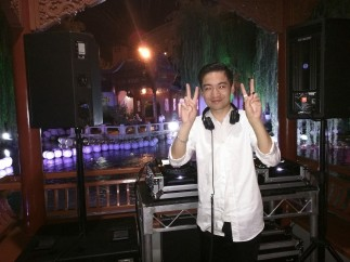 One of the DJs