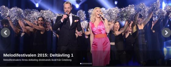 Melodifestivalen 2015 #1