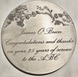 Twenty Five Years at the ABC