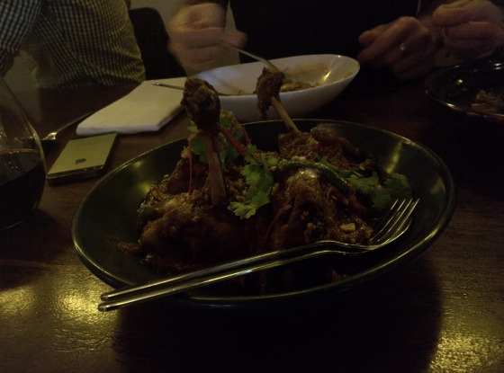 Panang Duck Curry at Longrain in Sydney