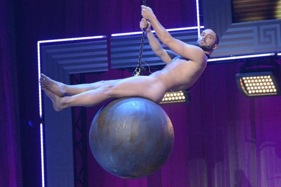 Måns Zelmerlöw at Sweden's Gay Gala