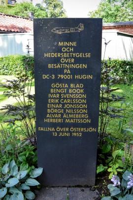 Graveyard near the Vasa Museet and the Nordiska Museet in Stockholm