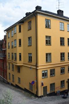 Bellmansgatan 1, the apartment where Mikael Blomqvist lived