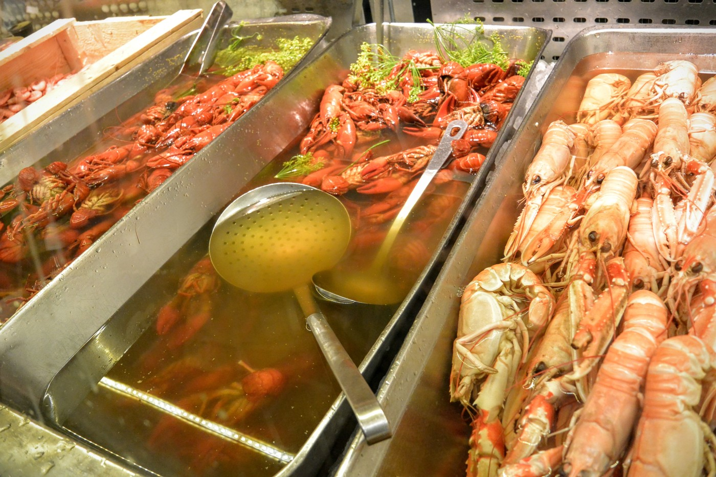 Some crayfish at Hötorgshallen