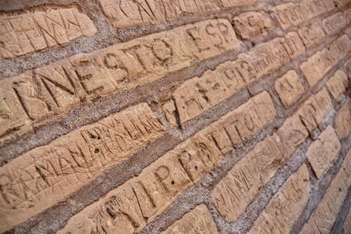 Real Rome Tours - The Colosseum Graffiti