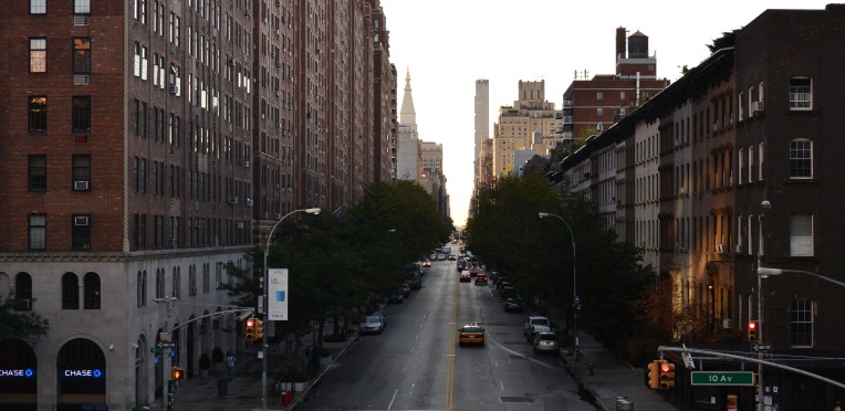 View from The Highline, NYC