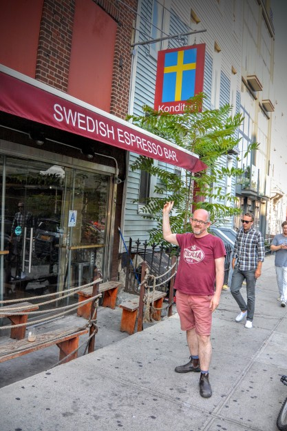 Swedish Espresso Bar in Brooklyn