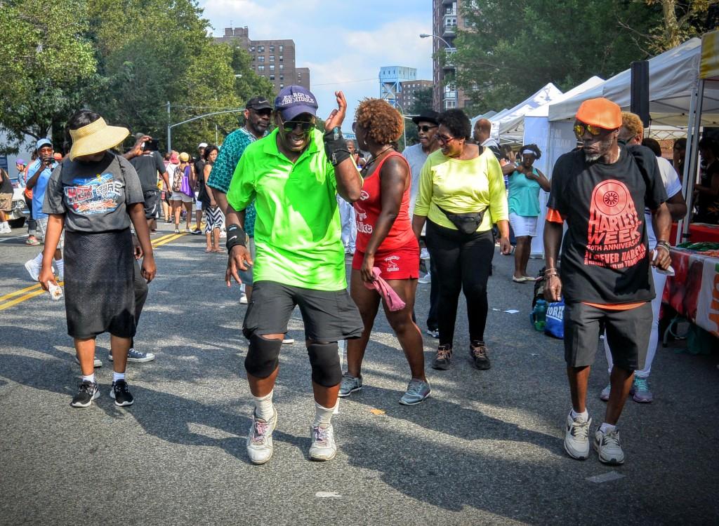 Dancing at Harlem Week