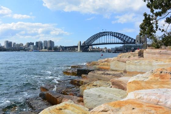 Sydney Harbour Bridge, as viewed from Barangaroo Reserve