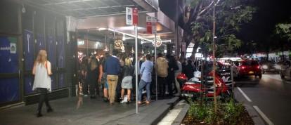 Crown Street Pizza Queue