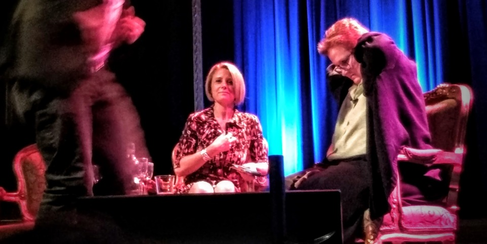Julian Morrow, Kristina Keneally and Amanda Vanstone