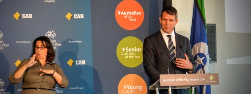 NSW Premier, Mike Baird