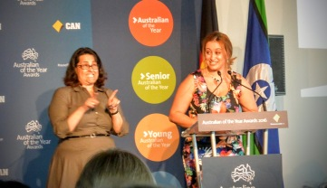 NSW Young Australian of the Year, Melissa Abu-Gazaleh.