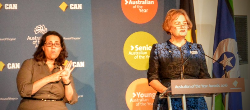 Senior Australian Of The Year 2015, Jackie French