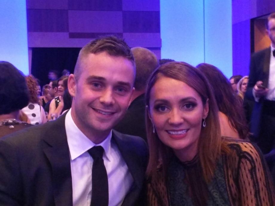 Marty McCarthy and Bridget Brennan