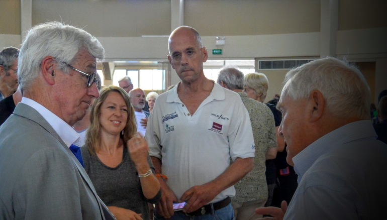 Julian Burnside at refugee talk at Gosford Anglican Church