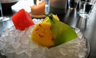 Marinated fruits