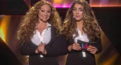 Melodifestivalen 2016 - Charlotte och Gina