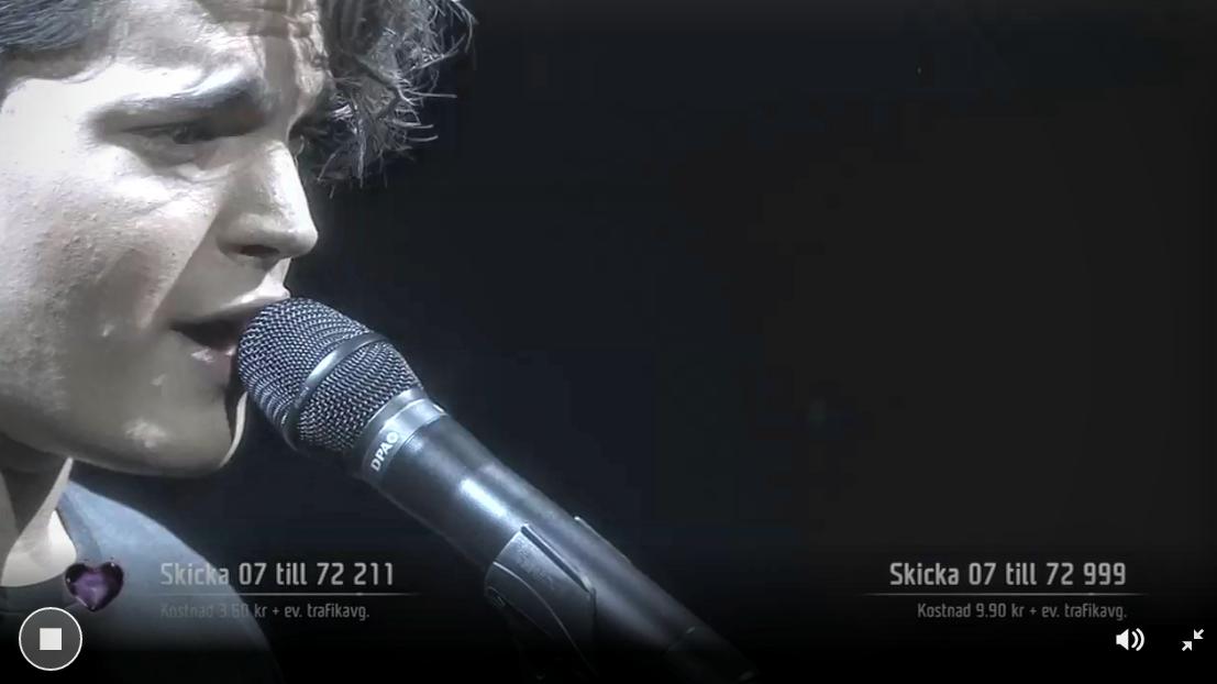 Melodifestivalen - Oscar Zia sings Human