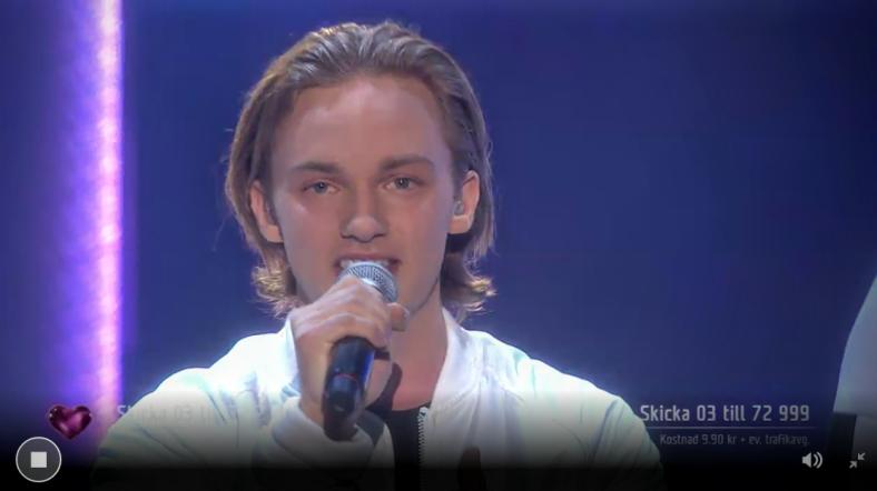 Melodifestivalen - Smilo sings Weight Of The World