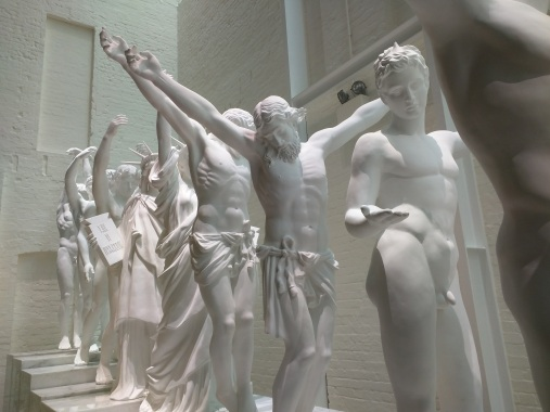 """""""European Thousand-Armed Sculpture"""" (2013–2014) by Xu Zhen"""