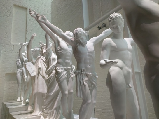 """European Thousand-Armed Sculpture"" (2013–2014) by Xu Zhen"