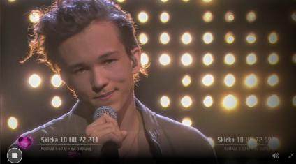 Melodifestivalen 2016 Winner - Frans