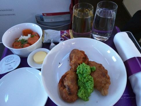 Business Class, Brisbane to Sydney, Virgin