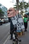 Tony Abbott imposter in Ann Street, as I voted remotely