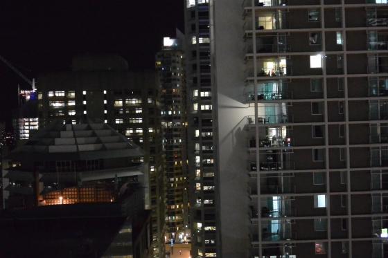 Brisbane CBD at night