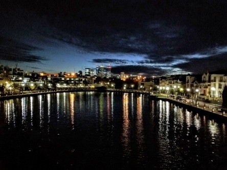 View from East Perth