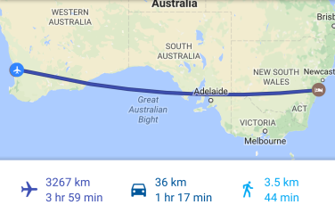 Sydney - Perth