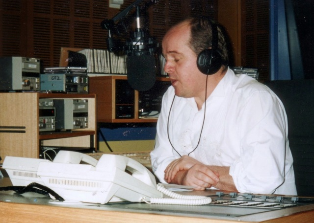 James O'Brien in ABC Studio before Sydney Olympics Opening