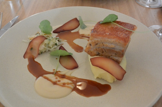 Pork Belly at The Tilbury at Woolloomooloo