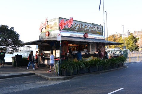 Harry's Cafe de Wheels at Woolloomooloo