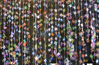 1-million stars against violence, art work at Surry Hills Library