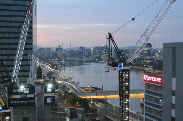 Brisbane Under Construction