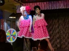 Sunday night drag show in Brisbane
