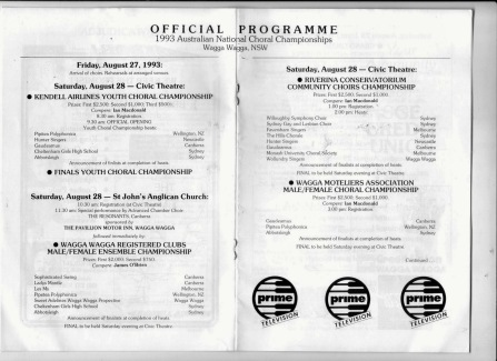 National Choral Championships