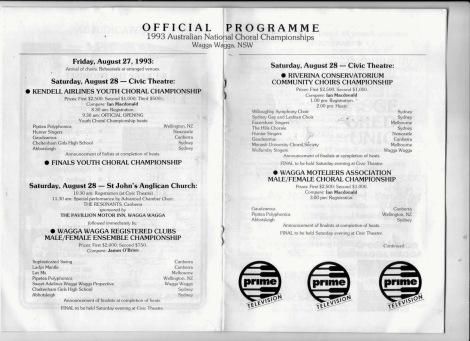 National Choral Championships