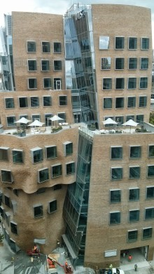 Frank Gehry-designed building at Sydney's University of Technology