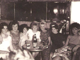 """Have had an amazing encounter thanks to one of the """"whatever happened to.."""" groups on Facebook. This week someone posted a photograph of family member, Gloria who I recognised instantly. 1964 maybe?"""